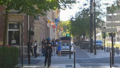صورة شاهد: مسلح يحتجز رهائن في لوهافر الفرنسية