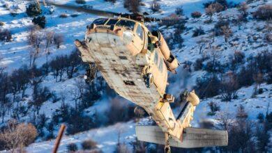 صورة إسرائيل تسقط طائرة مسيرة عبرت الحدود من لبنان