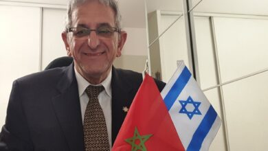 صورة شاهد: سيمون سكيرا رئيس فيدرالية اليهود المغاربة في فرنسا في حوار حصري لكيوسك 24