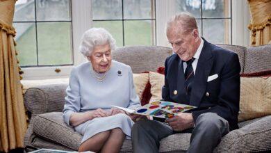 صورة إدخال زوج الملكة إليزابيث الأمير فيليب إلى المستشفى
