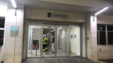صورة شاهد: مصاب بكورونا يضرم النار في المستشفى الذي يتعالج فيه في إسبانيا