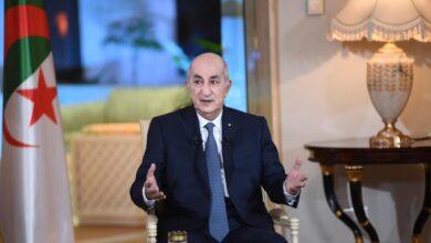 """صورة """"استقالة تبون"""" الرئيس الجزائري يوضح"""