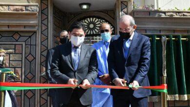 صورة افتتاح قنصلية عامة للأردن بالعيون