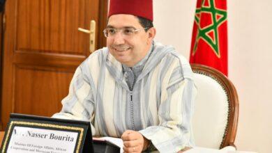 صورة المغرب يحتج على استقبال إسبانيا لزعيم البوليساريو