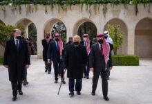 صورة وفاة عم عاهل الأردن عبد الله الثاني