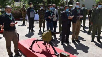 صورة مقتل جهادي خلال عملية للجيش في الجزائر