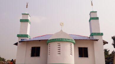 صورة اغتيال إمام داخل مسجد بالكونغو الديمقراطية