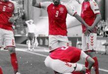 صورة شاهد: صدمة في عالم كرة القدم عقب سقوط إريكسن أثناء مباراة الدنمارك وفنلندا
