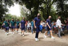صورة شاهد: بالعربية.. المنتخب الإيطالي يروج لحسابه الجديد