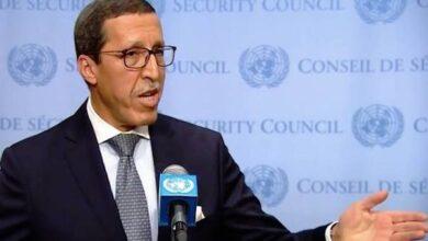 صورة انتخاب ممثل المغرب لدى الأمم المتحدة رئيسا للجنة الأولى للجمعية العامة