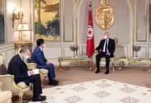 صورة شاهد: بوريطة يسلم الرئيس التونسي رسالة ملكية