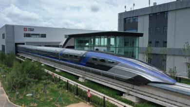 صورة شاهد: إطلاق ماغليف أسرع قطار صيني في العالم