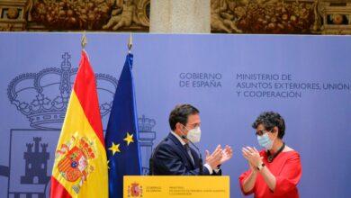 صورة كيف وصف وزير الخارجية الإسباني الجديد المغرب خلال حفل تسليم السلط بينه وبين أرانشا؟