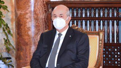 صورة الرئيس الجزائري يأمر بتسريع وتيرة التلقيح لبلوغ المناعة الجماعية