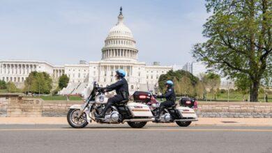 صورة رجل هدد بتفجير محيط الكونغرس الأمريكي يسلم نفسه إلى الشرطة