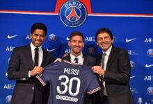 صورة شاهد: ميسي سعيد بانضمامه إلى باريس سان جيرمان