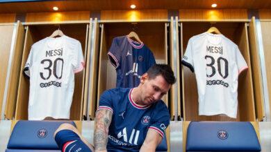 صورة في أقل من 24 ساعة.. نفاد قمصان ميسي في متاجر باريس سان جيرمان