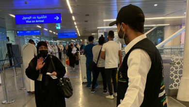 صورة السعودية تستقبل المعتمرين القادمين من الخارج