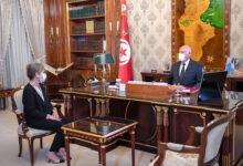 صورة شاهد: لأول مرة في تاريخ تونس.. قيس سعيد يكلف امرأة بتشكيل حكومة جديدة
