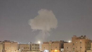 صورة شاهد: السعودية تعترض صواريخ بالستية وطائرات مسيرة مفخخة أطلقها الحوثيون