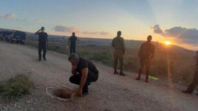 """صورة شاهد: """"بريزن بريك"""" النسخة الفلسطينية.. هروب أسرى فلسطينيين من سجن إسرائيلي"""