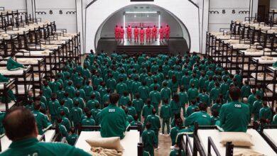 صورة شاهد: تحدي لصنع حلوى مسلسل لعبة الحبار في الصين