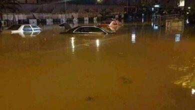 صورة شاهد: قتلى في فيضانات بتونس